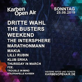 Line-up, Sonntag